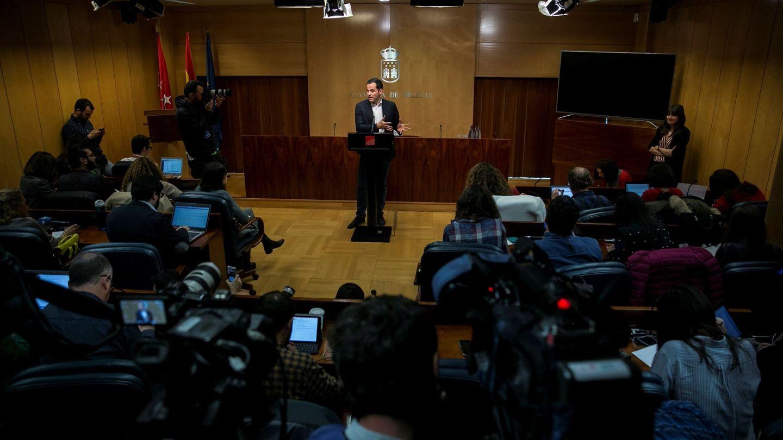 El portavoz de Ciudadanos en la Asamblea de Madrid, Ignacio Aguado. (EFE)