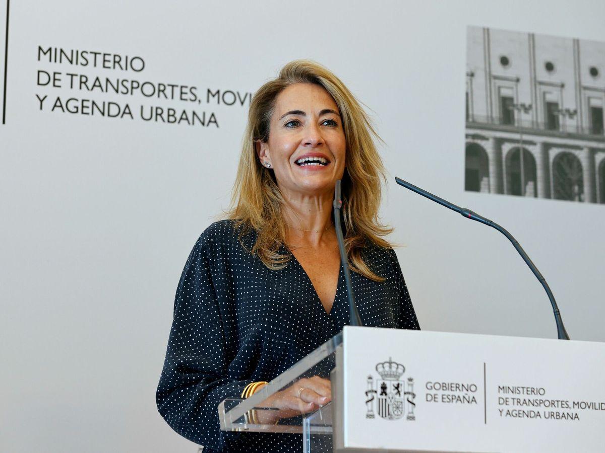 Foto: La ministra de Transportes, Raquel Sánchez. (EFE)