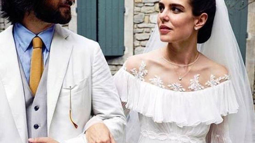 Carlota Casiraghi siguió el ejemplo de Pilar Rubio y Belén Esteban en su boda religiosa