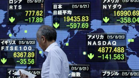 La Bolsa de Tokio se hunde más del 4,5% arrastrada por Shanghái