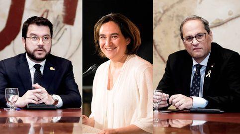 Con Colau de alcaldesa, ERC se queda sin incentivo para seguir de socio con Torra