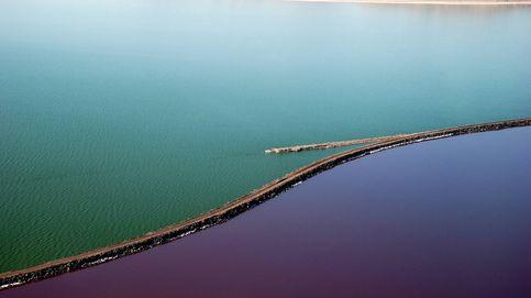 La mitad de este lago ha desaparecido por culpa del ser humano