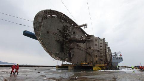 Exitosa recuperación del ferry 'Sewol'