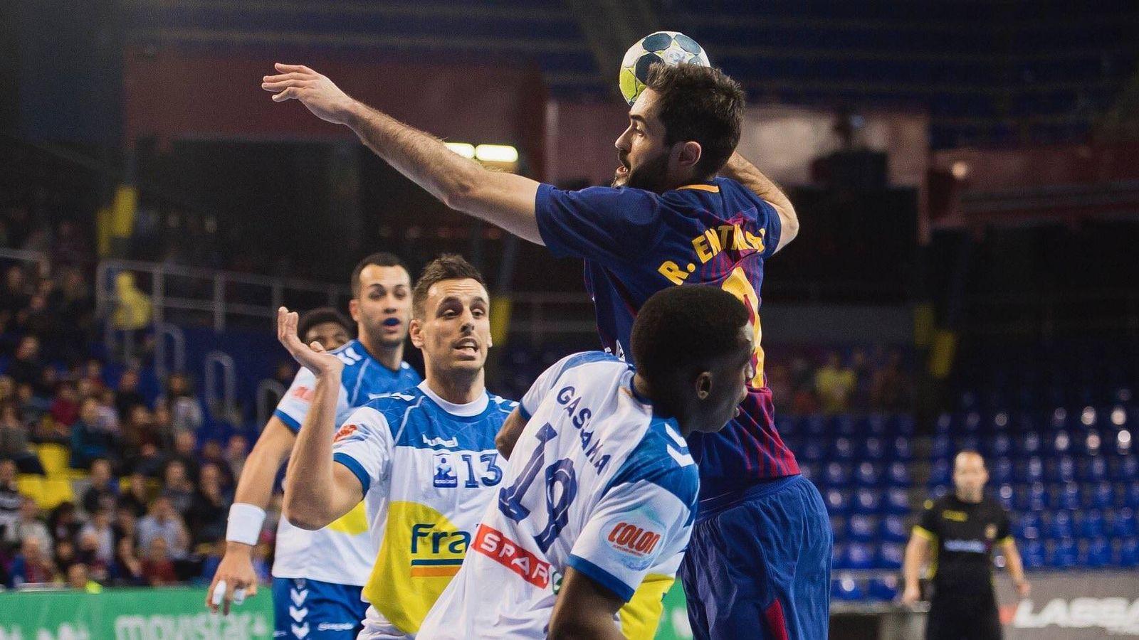 Foto: El FC Barcelona Lassa no perdía en la ASOBAL desde mayo de 2013. Este viernes lo hizo ante el Granollers. (FC Barcelona)