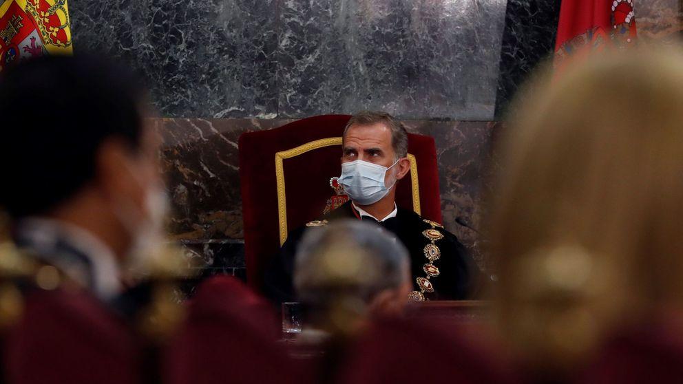 El Rey no irá por primera vez a la entrega de despachos a jueces en Barcelona