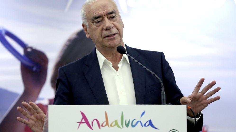 Foto: El exconsejero de la Junta de Andalucía Luciano Alonso. (EFE)