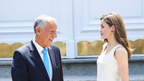 Los Reyes reciben a Rebelo de Sousa, un presidente sin primera dama (oficial)