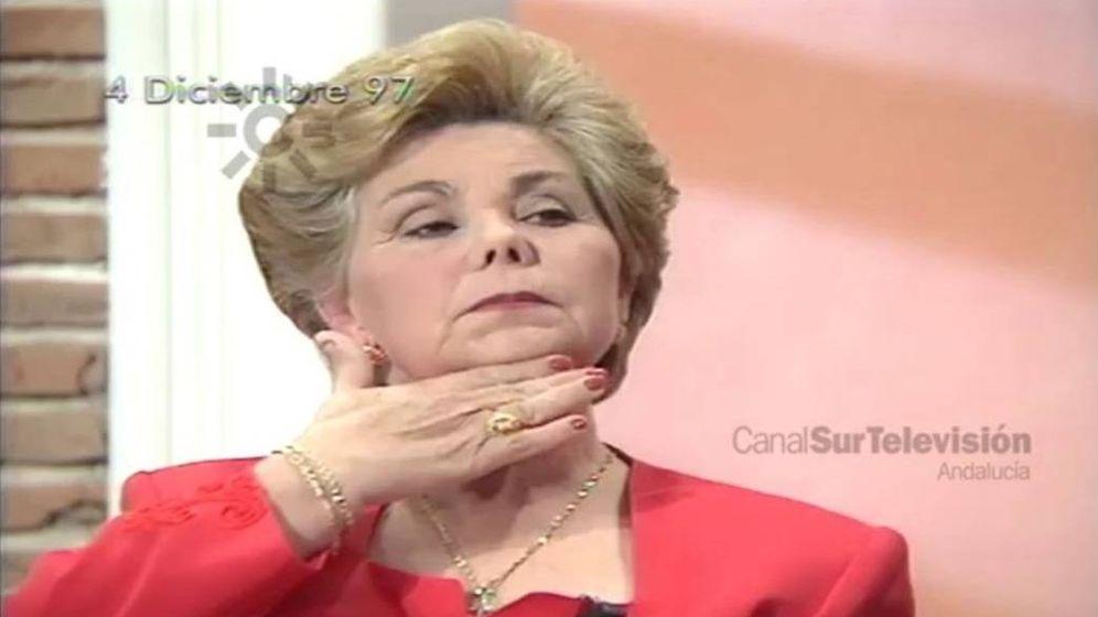 Foto: Ana Orantes durante su entrevista en 'De tarde en tarde'. (Canal Sur)