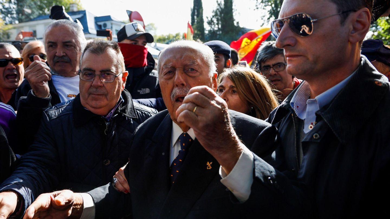 El ex teniente coronel de la Guardia Civil que encabezó el fallido golpe de Estado del 23 de febrero de 1981, Antonio Tejero. (EFE)