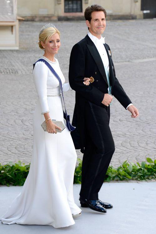 Foto: Marie-Chantal y Pablo de Grecia, en una imagen de archivo. (Getty)