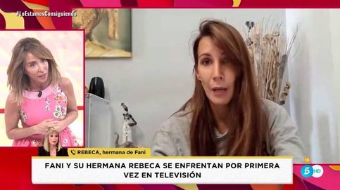 Fani y su hermana, Rebeca, dejan tirada en directo a María Patiño: No es justo
