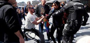 Post de Agresiones, insultos y varios detenidos en los actos de Vox en San Sebastián y Bilbao