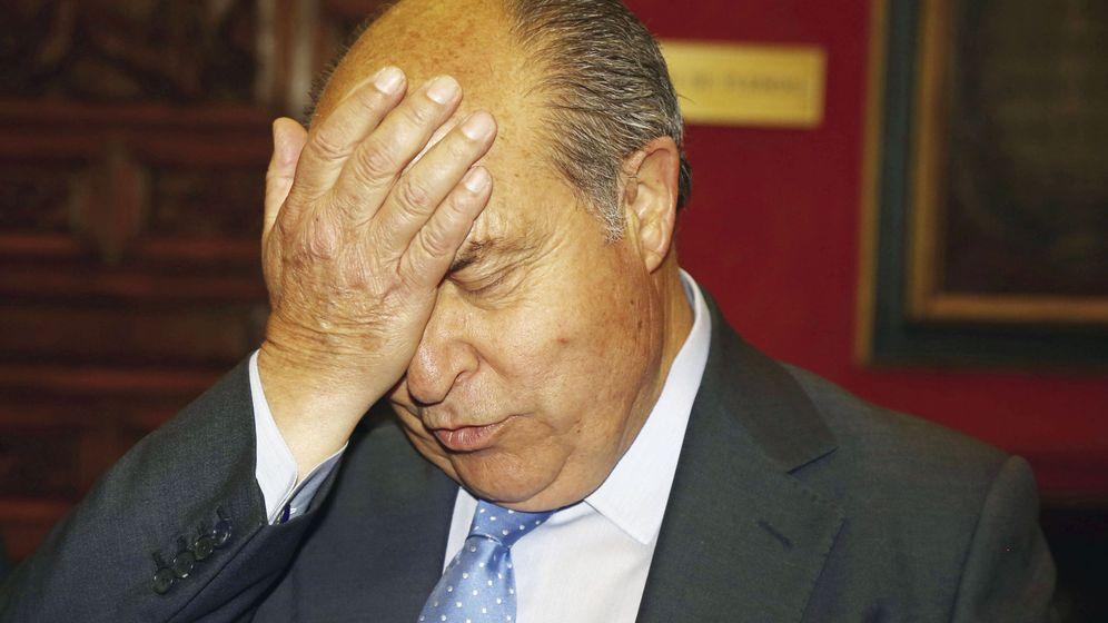Foto: El alcalde de Granada, José Torres Hurtado, durante una rueda de prensa la semana pasada. (Efe)