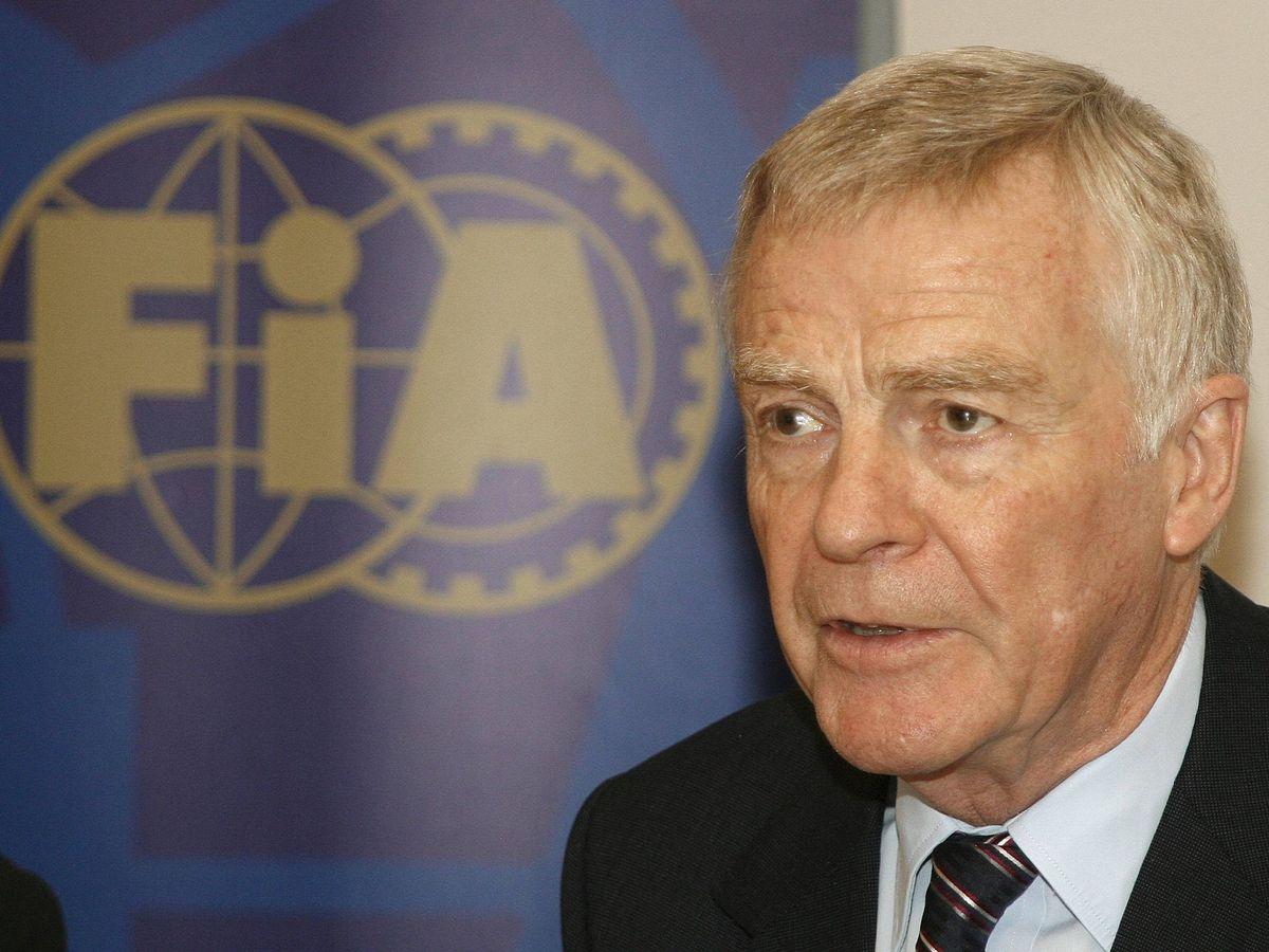 Foto: Presidente de la FIA y todopoderoso en la F1, Mosley transformó la disciplina junto con Bernie Ecclestone