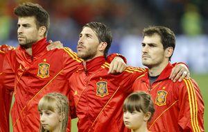 Ramos, Piqué y Alba lucharán por formar parte del mejor once del año