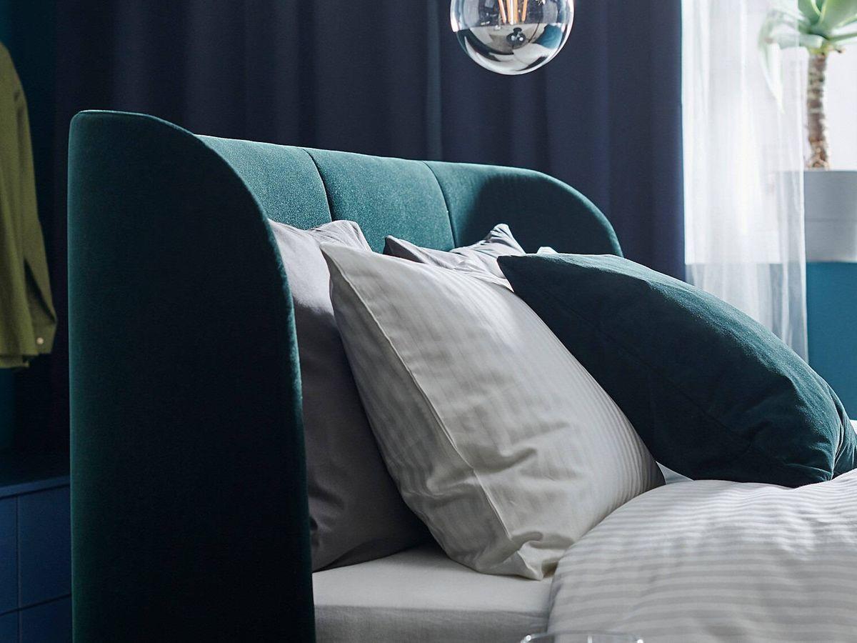 Foto: Dormitorio de lujo gracias a Ikea. (Cortesía)