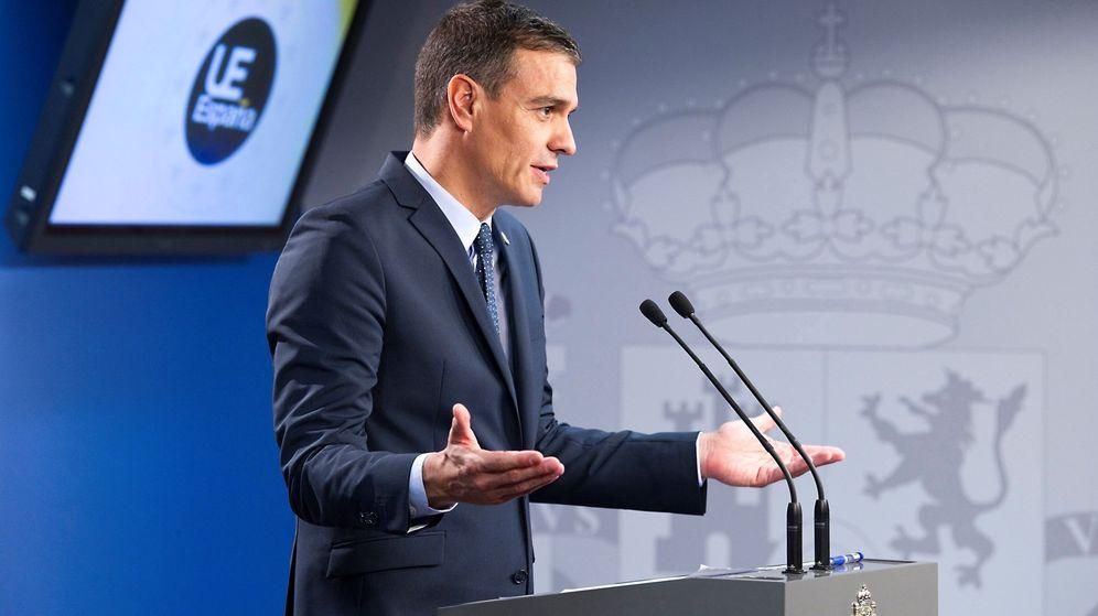 Foto: El presidente del Gobierno en funciones, Pedro Sánchez, en Bruselas. (EFE)