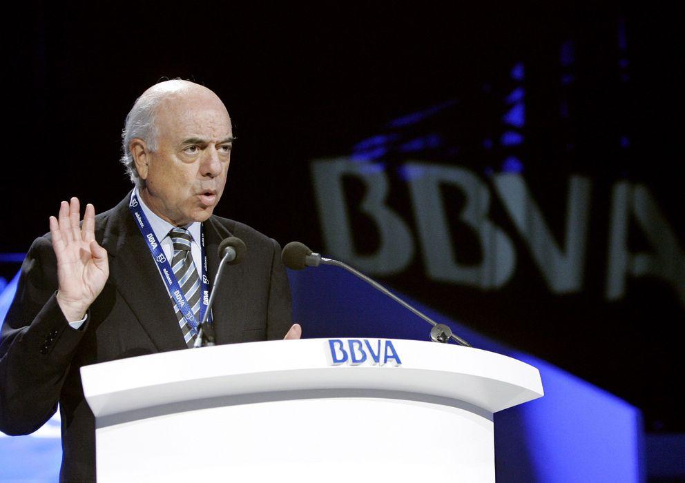 Foto: Francisco González, presidente de BBVA