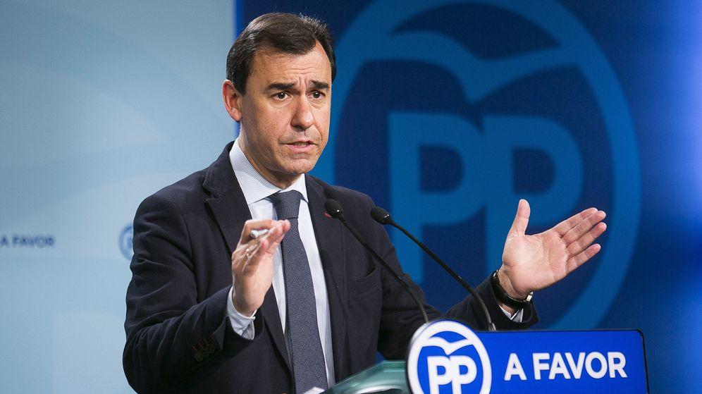 Foto: Fernando Martínez-Maillo durante la rueda de prensa. (Efe)