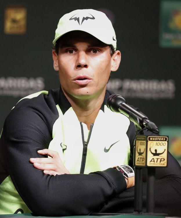 Foto: Nadal ya está en California para jugar en Indian Wells (Paul Buck/EFE-EPA)