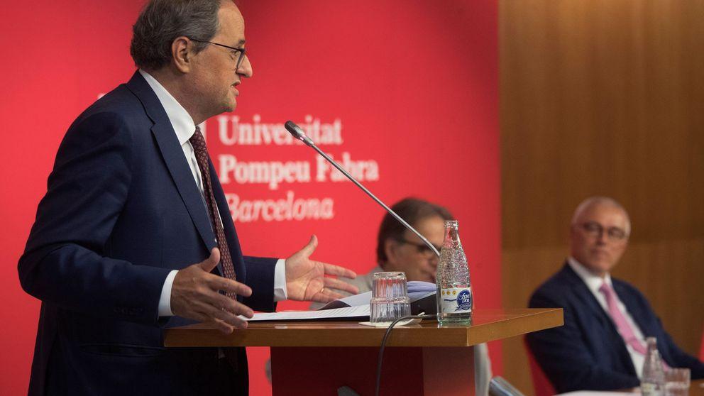 El payaso Torra y el día de la división nacional de Cataluña