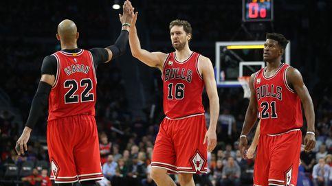Gasol da un empujón a sus opciones de 'All Star' liderando la victoria de los Bulls