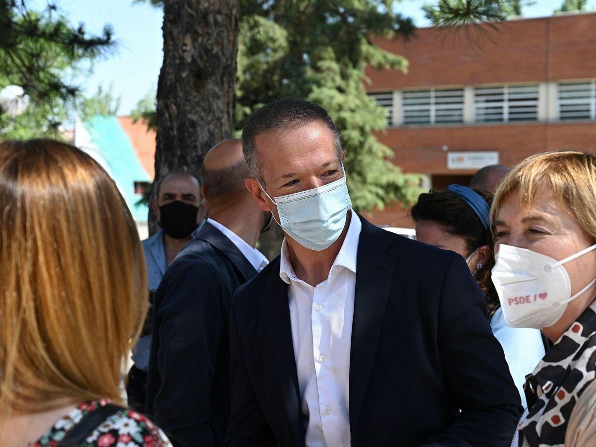 Foto: El portavoz del PSOE en el Senado, Ander Gil. (EFE)