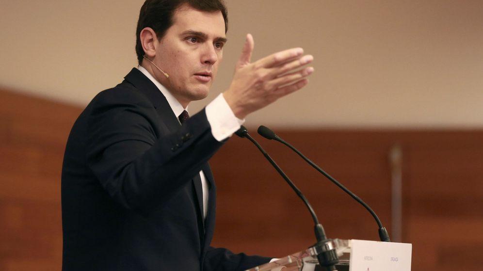 Foto: El presidente de Ciudadanos, Albert Rivera, el pasado fin de semana. (EFE)