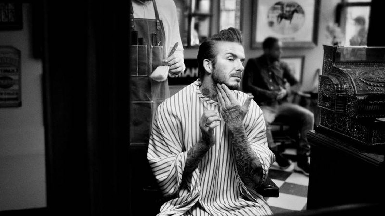 David Beckham en una imagen de House 99, su firma de cosméticos para L'Oréal.