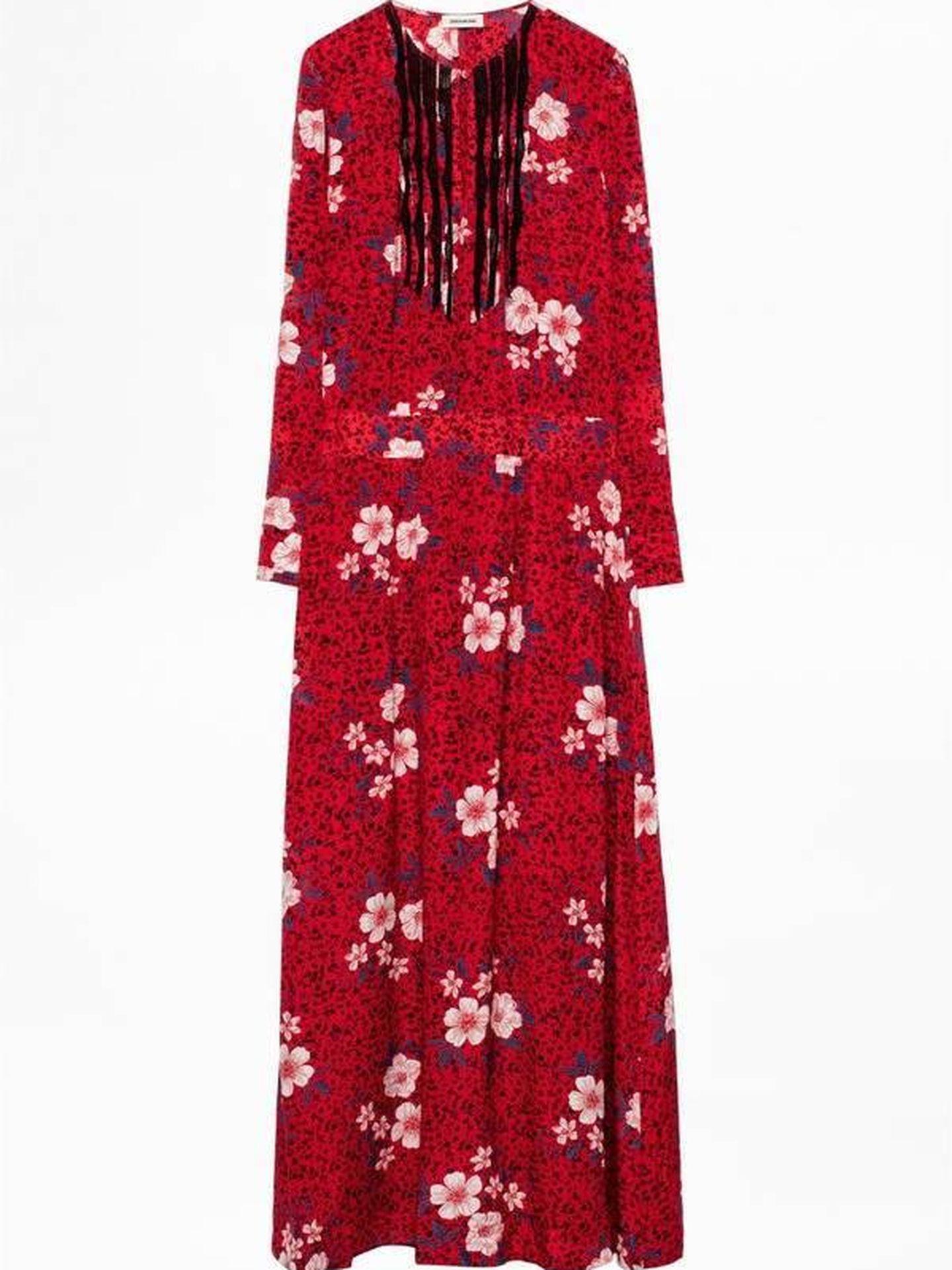 El vestido de Zadig et Voltaire. (Cortesía)
