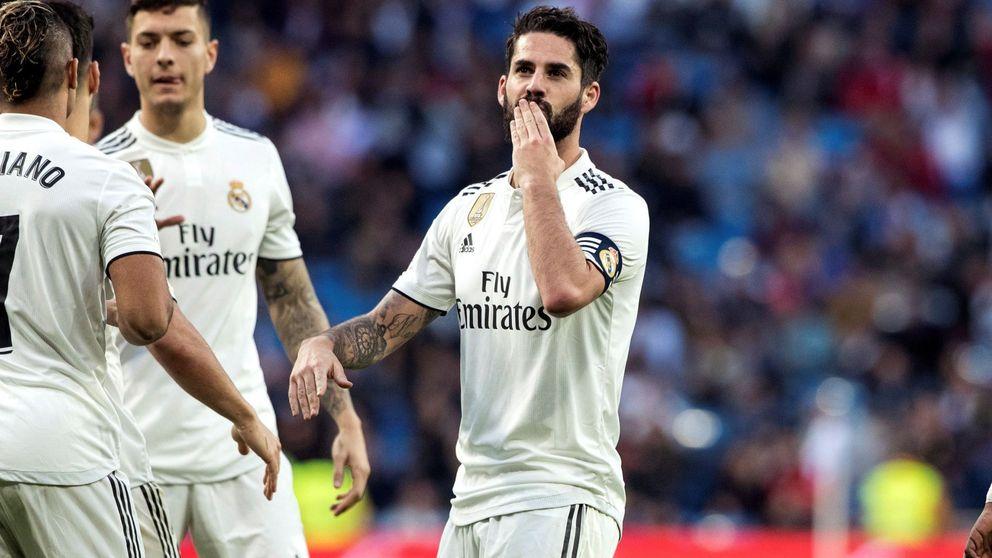 Isco aguanta el pulso de Solari y decide no irse en enero del Real Madrid