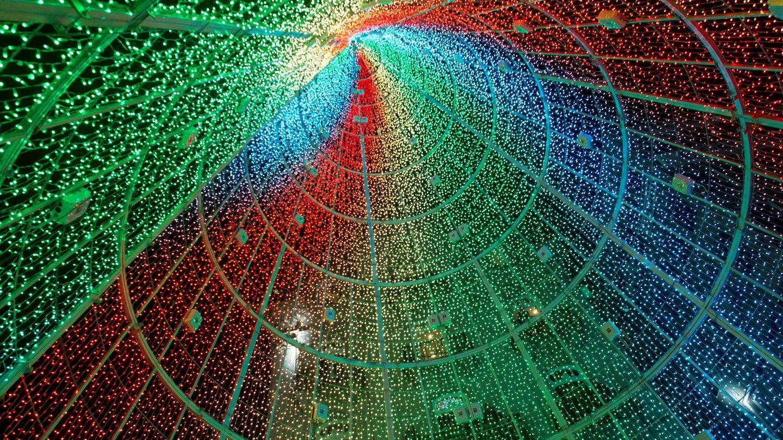 Alumbrado navideño de la ciudad de Vigo en 2019. (EFE)