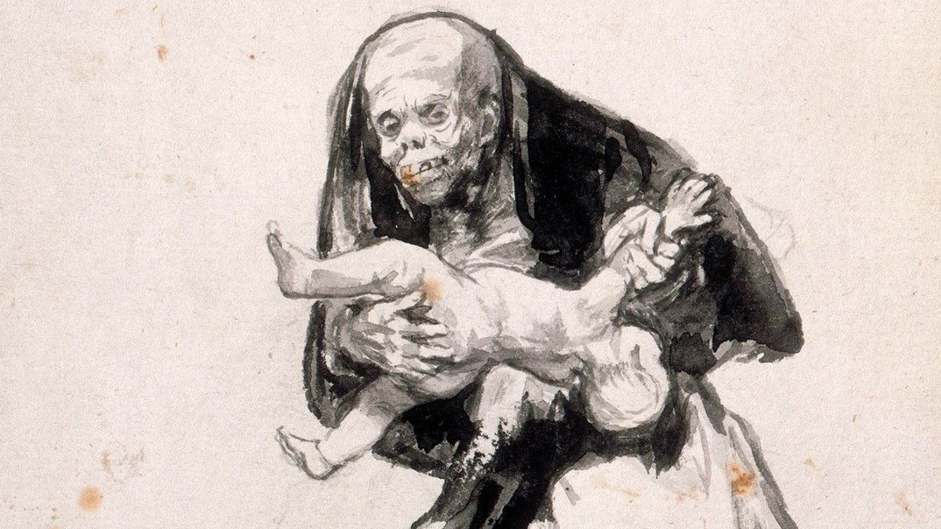 Foto: 'Mujer mala', de Francisco de Goya,  c1819- 23 (Courtauld Gallery, Londres)