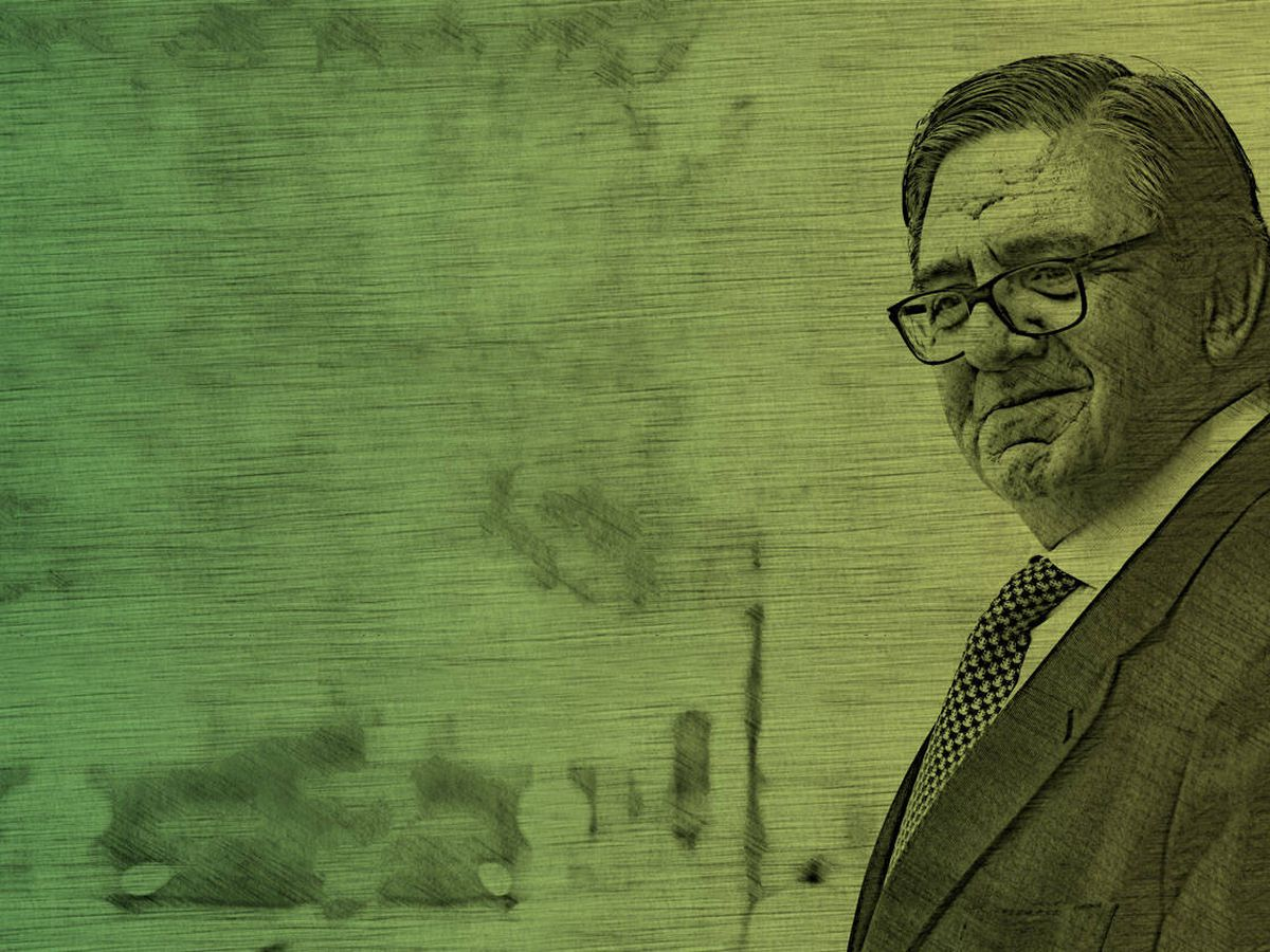 Foto: García Revenga, en un fotomontaje realizado por Vanitatis.