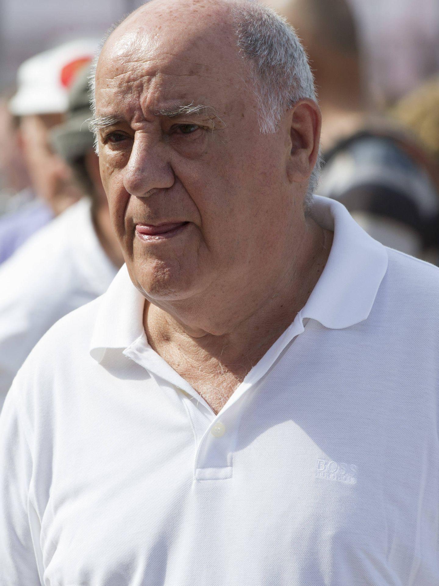 Amancio Ortega, fundador de Inditex. (Fuente: Getty).