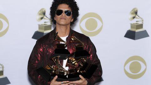 Bruno Mars arrasa en los Grammy y se lleva los seis premios a los que optaba