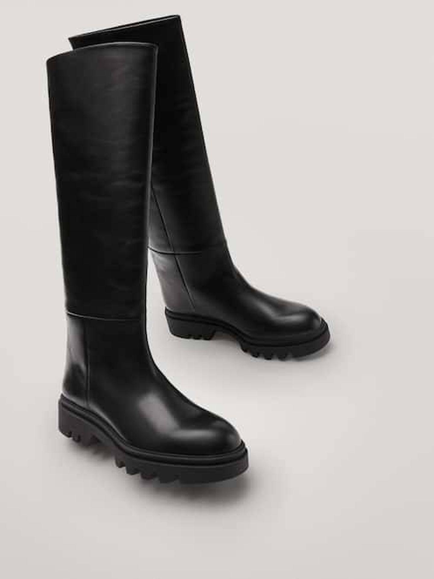 Las botas de Massimo Dutti. (Cortesía)