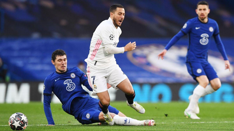 El Chelsea arrolla el dibujo de Zidane y jugará la final de Estambul (2-0)