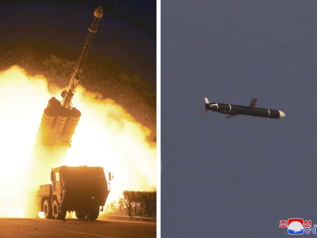 Foto: Pruebas de misiles de largo alcance en Corea del Norte. (Reuters)