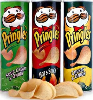 Foto: Las Pringles no son patatas fritas