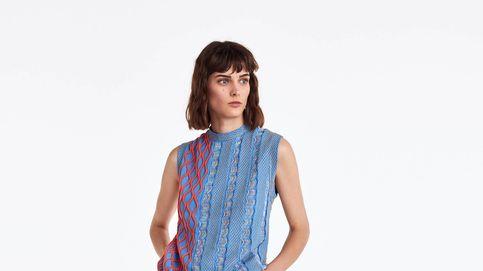 Uterqüe llama a este jersey 'modelo fantasía'... y no nos extraña porque es precioso
