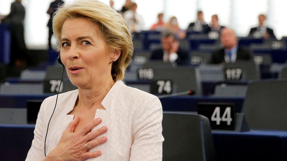 Foto: Presidenta electa de la Comisión Europea. (Reuters)