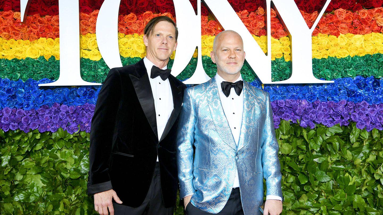 Con su marido, en la entrega de premios Tony de teatro del año pasado. (Getty)