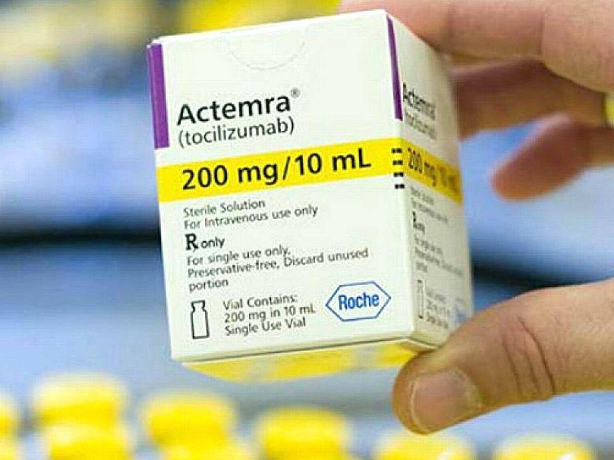 Foto: Envase de Actemra, uno de los fármacos más prometedores en la lucha contra el coronavirus en pacientes graves