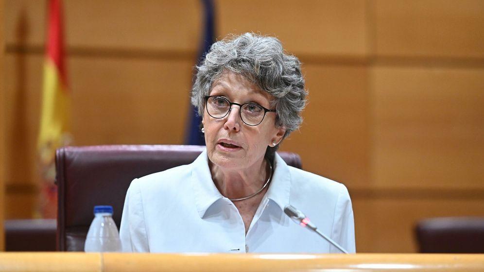 Foto:  La administradora única de RTVE, Rosa María Mateo (EFE)