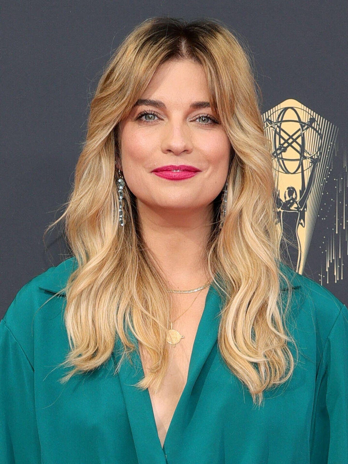 Annie Murphy, en los Emmy 2021. (Getty)