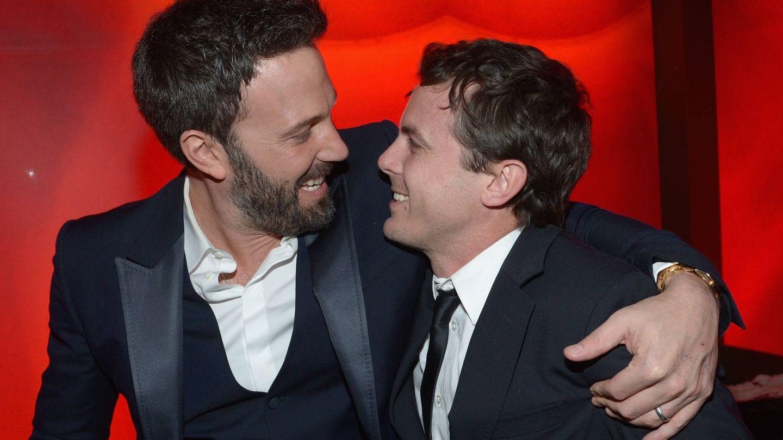 Ben y Casey Affleck. (Getty)