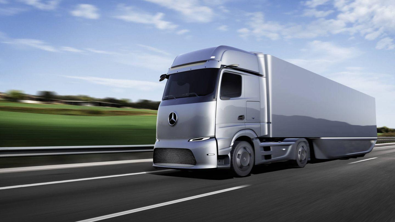 Mercedes-Benz no desarrolla ya turismos de hidrógeno, pero ha acelerado el desarrollo de camiones con pila de hidrógeno tras su acuerdo con Volvo del pasado año.
