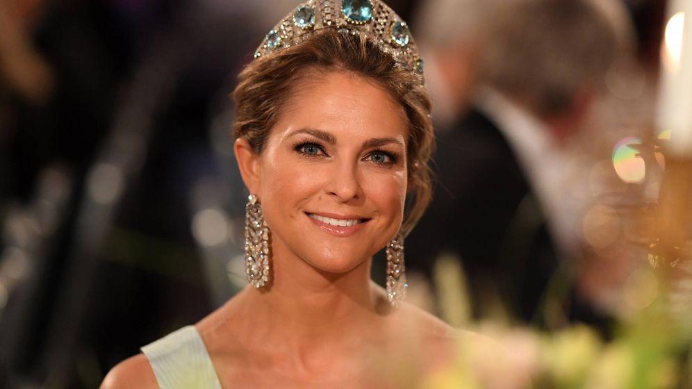 Foto: La princesa Magdalena, en los Premios Nobel. (Getty)