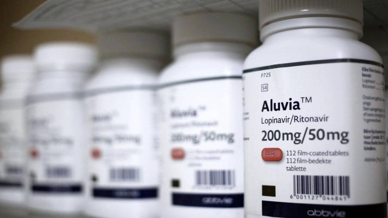 Botes de Lopinavir–Ritonavir, uno de los fármacos que se están testando. (Reuters)
